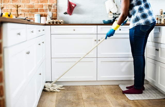 נקיון לאחר שיפוץ דירה